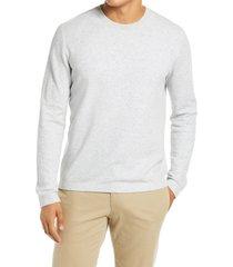 men's vince slim fit sweater, size large - grey