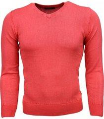 bruno leoni casual trui rood
