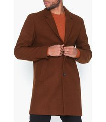 premium by jack & jones jprmoulder wool coat sts jackor ljus brun