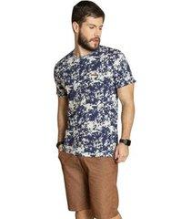 camiseta surf.com detalhe mangas masculina - masculino