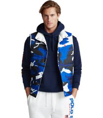 polo ralph lauren men's reversible down vest