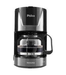 cafeteira philco pcf18t 18 cafés 550w titaniun inox/preto 110v