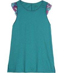 blusa de algodão supima colorful dream intimissimi algodão supima verde