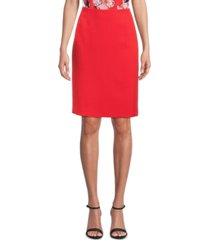 kasper petite stretch slim-fit skirt