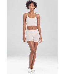 natori bliss flex shorts, women's, 100% cotton, size m