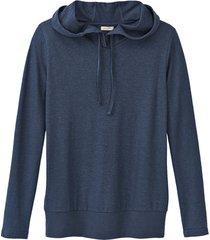 capuchon-shirt, marineblauw 36