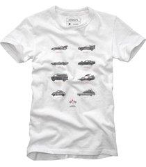 camiseta carros bolados acelerados reserva branco - branco - masculino - dafiti