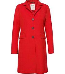 coats woven tunn rock röd esprit casual