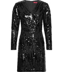 kelias-1 kort klänning svart hugo