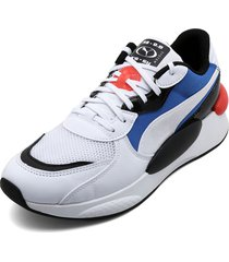 tenis lifestyle blanco-multicolor puma rs 9.8 fresh