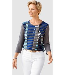 shirt barbara lebek grijs::royal blue