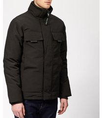 canada goose men's forester jacket - black - xl - black