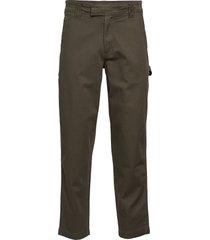 056 ginok utility pant trousers cargo pants grön calvin klein jeans
