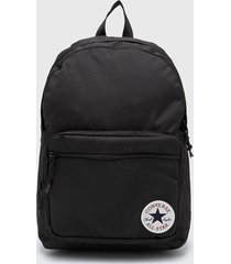 mochila negra converse g0 2