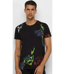 camiseta forum eletric color masculina