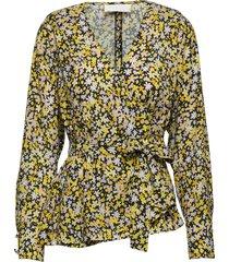nicole blouse lange mouwen geel fall winter spring summer