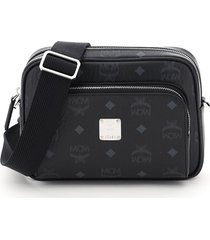 mcm klassik small visetos crossbody bag