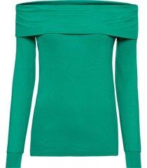 maglia con spalle scoperte (verde) - rainbow