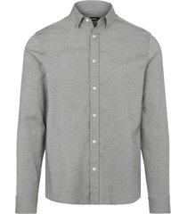 stretch oxford slim shirt