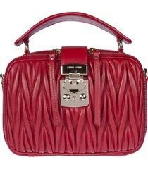 miu miu portable cosmetic case shoulder bag