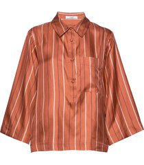elba shirt overhemd met lange mouwen oranje lovechild 1979