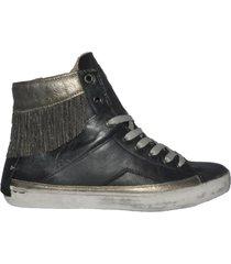 crime sneakers con frange