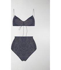 oséree shimmer bikini set