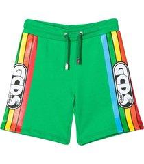 gcds mini teen sports shorts with press