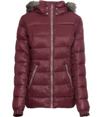 giacca trapuntata (rosso) - john baner jeanswear