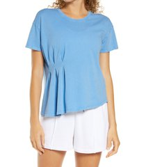 women's zella washed pleated t-shirt
