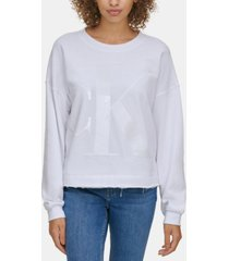 calvin klein jeans sequin graphic sweatshirt