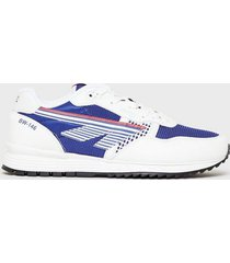 hi-tec badwater sneakers white/blue