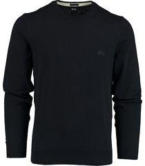 hugo boss pullover pacas donkerblauw rf 50450180/402