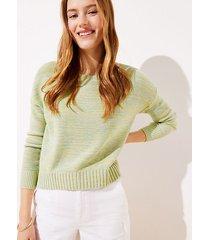 loft marled cropped sweater