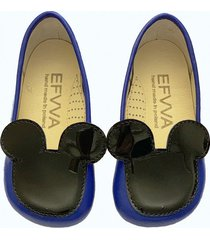 buty miss mouse blue