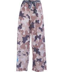 panta sedre losse broek camouflage print