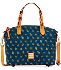 dooney & bourke blakely signature small celeste satchel