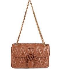 antoinetted leather shoulder bag