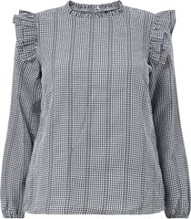 blus vmlo ls blouse - k curve