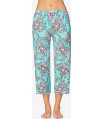 ellen tracy women's cropped pajama pant