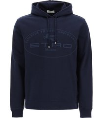 etro logo hoodie