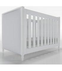 berã‡o 2x1 tudor branco cabeceira estofada timber - branco - dafiti