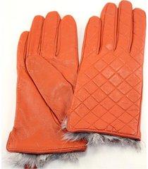 guantes naranjas almacén de parís