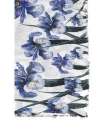 faliero sarti cecile floral scarf