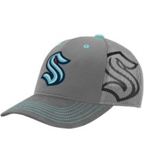 outerstuff youth seattle kraken structured mesh cap
