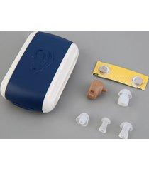 er nuevo audífono amplificador personal de sonido en el oído tono volumen ajustable -multicolor