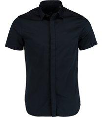 armani exchange overhemd donkerblauw slimfit 8nzcbf.zn10z/1510