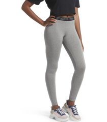 kendall + kylie logo cotton leggings