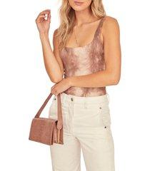 women's astr the label retrograde sleeveless bodysuit
