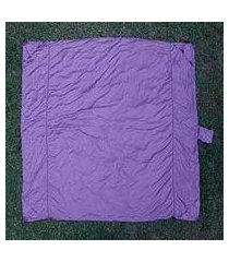 parachute beach blanket, 'sanur purple' (indonesia)